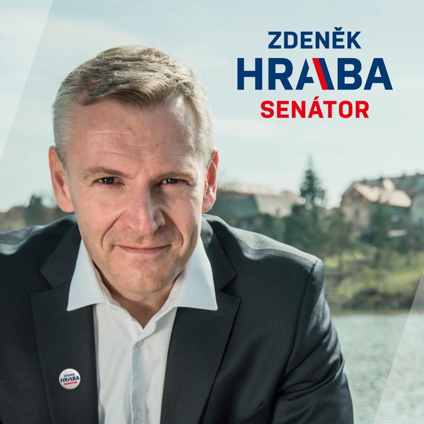 Vizuální identita pro senátora Zdeňka Hrabu