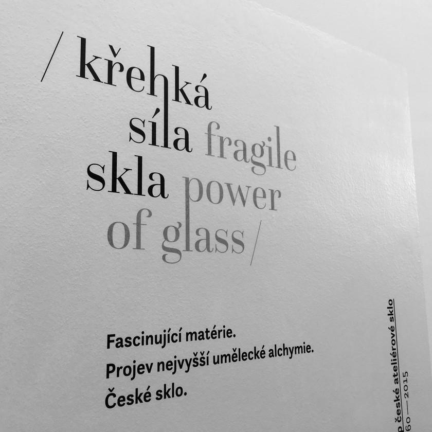 Křehká síla skla