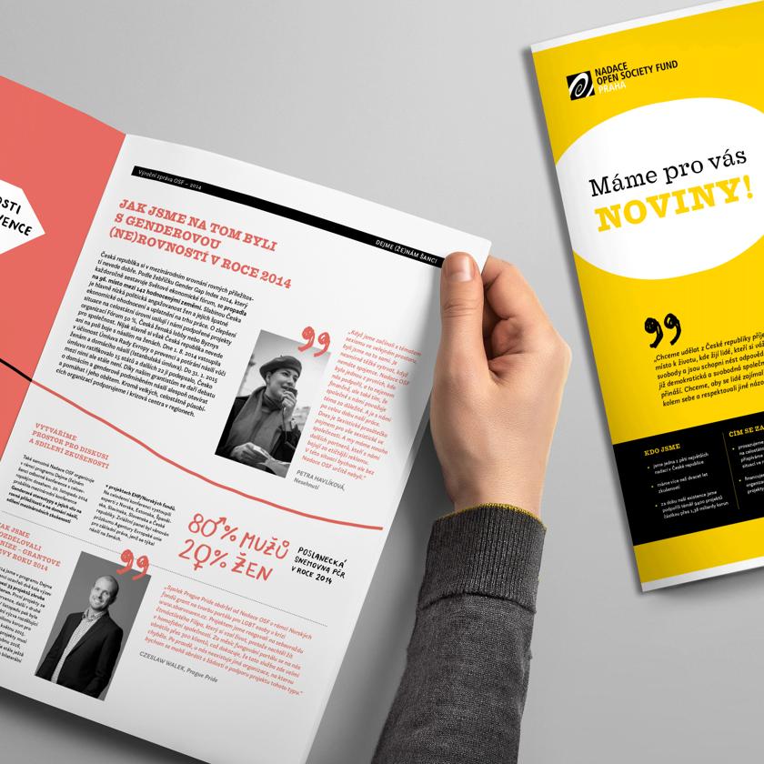 výroční zpráva OSF