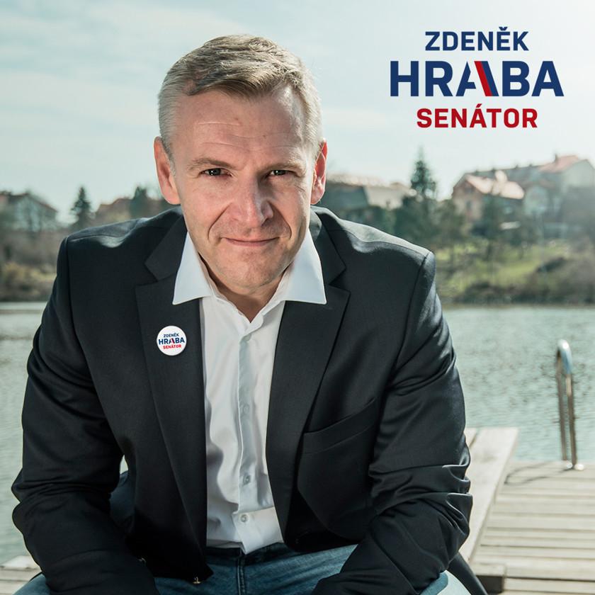 Vizuální identita pro senátora Hrabu